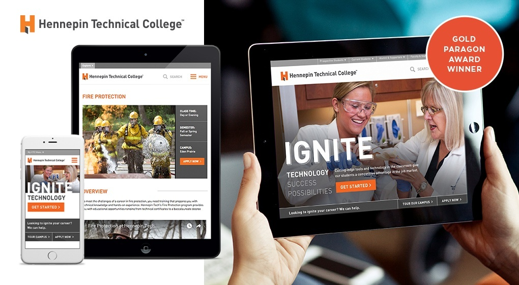 Hennepin Technical College Website
