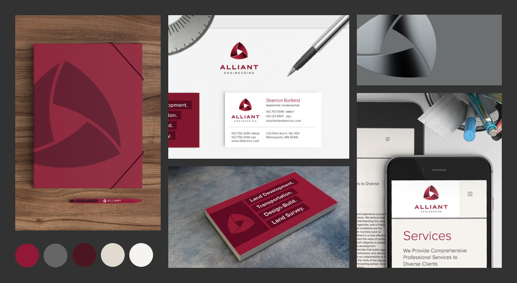 Alliant Engineering Branding