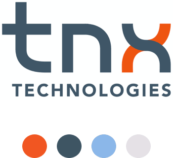 TNX Technologies logo and brand colors